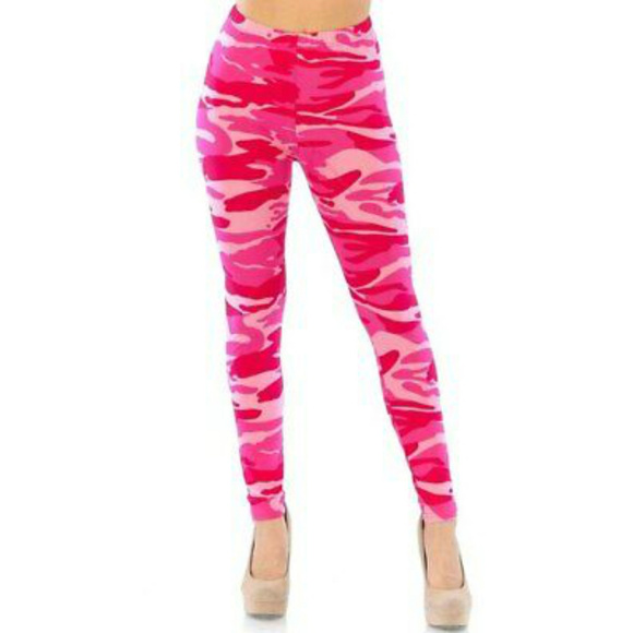 a1d4ff8ba0c26 New Mix Pants | Womens Buttery Soft Leggings Pink Size 4x | Poshmark